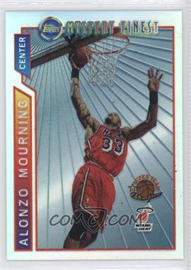1996-97 Topps Super Team Champions NBA Finals Refractor #M10 - Alonzo Mourning