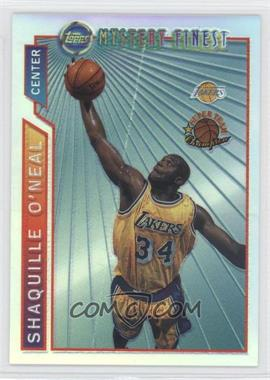 1996-97 Topps Super Team Champions NBA Finals Refractor #M12 - Shaquille O'Neal