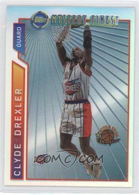 1996-97 Topps Super Team Champions NBA Finals Refractor #M13 - Clyde Drexler