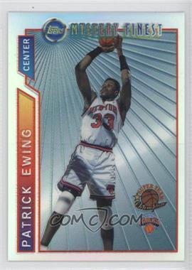 1996-97 Topps Super Team Champions NBA Finals Refractor #M17 - Patrick Ewing