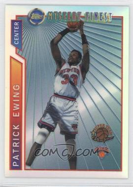1996-97 Topps Super Team Champions NBA Finals Refractor #M17 - Patrick Ewing