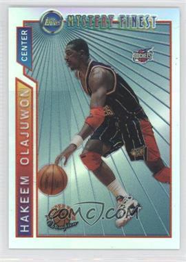 1996-97 Topps Super Team Champions NBA Finals Refractor #M19 - Hakeem Olajuwon