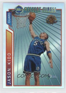1996-97 Topps Super Team Champions NBA Finals Refractor #M2 - Jason Kidd