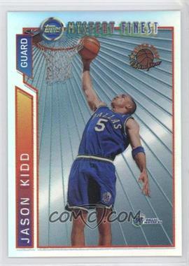 1996-97 Topps Super Team Champions NBA Finals Refractor #M2 - Jason Kidd
