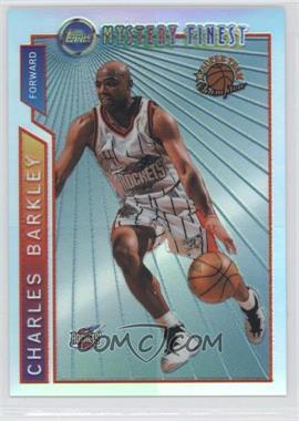 1996-97 Topps Super Team Champions NBA Finals Refractor #M21 - Charles Barkley