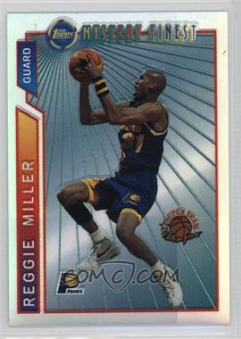 1996-97 Topps Super Team Champions NBA Finals Refractor #M22 - Reggie Miller