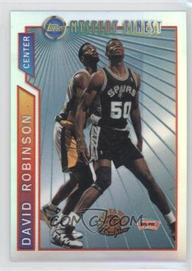 1996-97 Topps Super Team Champions NBA Finals Refractor #M9 - David Robinson