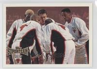 Chicago Bulls Team (Dennis Rodman, Ron Harper, Luc Longley, Michael Jordan, Sco…
