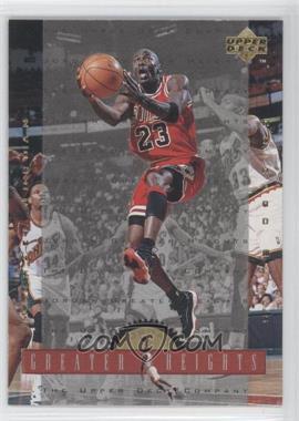 1996-97 Upper Deck - Jordan Greater Heights #GH8 - Michael Jordan