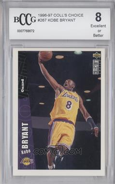 1996-97 Upper Deck Collector's Choice - [Base] #267 - Kobe Bryant [ENCASED]