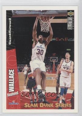 1996-97 Upper Deck Collector's Choice - Slam Dunk Series #40 - Rasheed Wallace