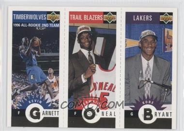 1996-97 Upper Deck Collector's Choice - Upper Deck Mini-Cards - Gold #MBOG - Kevin Garnett, Jermaine O'Neal, Kobe Bryant