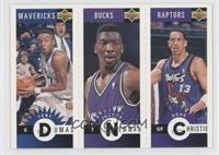 Tony Dumas, Johnny Newman, Doug Christie