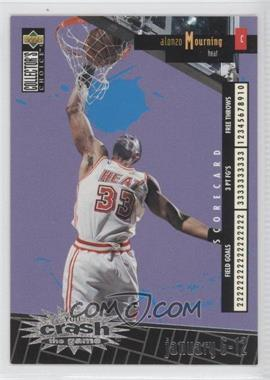 1996-97 Upper Deck Collector's Choice International Crash the Game Italian #C14 - Alonzo Mourning