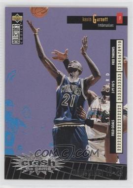 1996-97 Upper Deck Collector's Choice International Crash the Game Italian #C16 - Kevin Garnett
