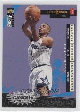 1996-97 Upper Deck Collector's Choice International Crash the Game Italian #C19 - Anfernee Hardaway