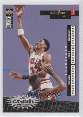 1996-97 Upper Deck Collector's Choice International Crash the Game Italian #C4 - Scottie Pippen