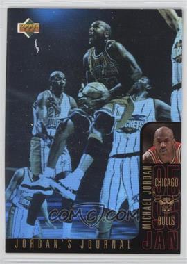 1996-97 Upper Deck Collector's Choice International French - Jordan's Journal #J3 - Michael Jordan