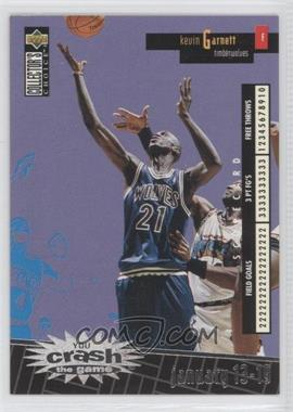 1996-97 Upper Deck Collector's Choice International French - You Crash the Game - Silver #C16 - Kevin Garnett