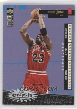 1996-97 Upper Deck Collector's Choice International French - You Crash the Game - Silver #C30 - Michael Jordan