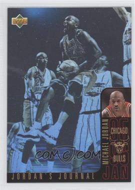1996-97 Upper Deck Collector's Choice International French Jordan's Journal #J3 - Michael Jordan