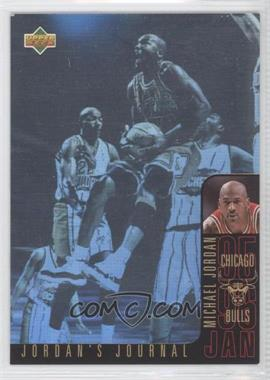 1996-97 Upper Deck Collector's Choice International French Jordan's Journal #J3 - Michael Jordan