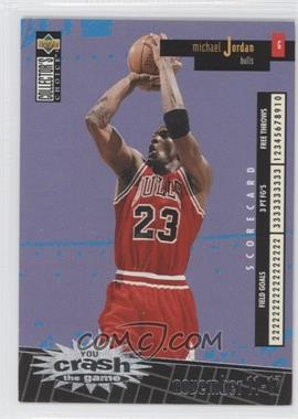 1996-97 Upper Deck Collector's Choice International French You Crash the Game Silver #C30 - Michael Jordan
