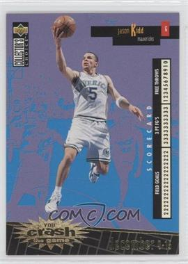 1996-97 Upper Deck Collector's Choice International Italian - Crash the Game - Gold #C6 - Jason Kidd