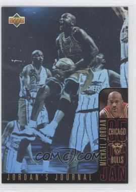 1996-97 Upper Deck Collector's Choice International Italian Jordan's Journal #J3 - Michael Jordan