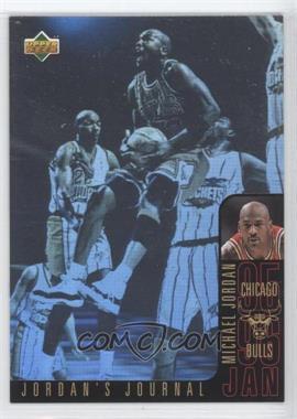 1996-97 Upper Deck Collector's Choice International Italian Jordan's Journal #J3 - Michael Jordan