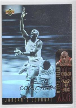 1996-97 Upper Deck Collector's Choice International Italian Jordan's Journal #J5 - Michael Jordan