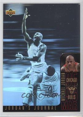 1996-97 Upper Deck Collector's Choice International Italian Jordan's Journal #J5 - Michael Jordan