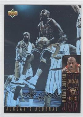 1996-97 Upper Deck Collector's Choice International Jordan's Journal Spanish #J3 - Michael Jordan