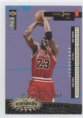 1996-97 Upper Deck Collector's Choice Redemption You Crash the Game Series 1 Gold #C30 - Michael Jordan