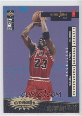1996-97 Upper Deck Collector's Choice Redemption You Crash the Game Series 1 Gold #C30.1 - Michael Jordan (november 11-17)