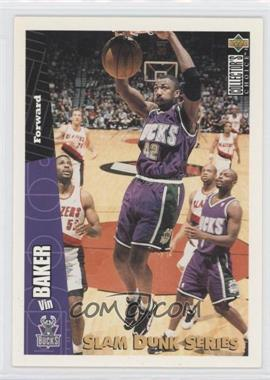 1996-97 Upper Deck Collector's Choice Slam Dunk Series #20 - Vin Baker