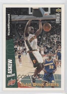 1996-97 Upper Deck Collector's Choice Slam Dunk Series #32 - Vincent Askew