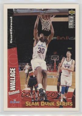 1996-97 Upper Deck Collector's Choice Slam Dunk Series #40 - Rasheed Wallace