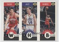 Rex Walters, Jeff Hornacek, Mookie Blaylock