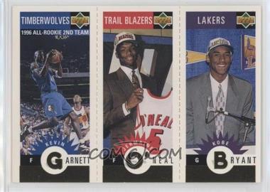 1996-97 Upper Deck Collector's Choice Upper Deck Mini-Cards Gold #MBOG - Kevin Garnett, Jermaine O'Neal, Kobe Bryant