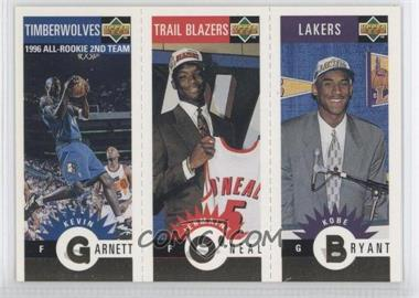 1996-97 Upper Deck Collector's Choice Upper Deck Mini-Cards Gold #MBOG - Kevin Garnett, Jermaine O'Neal, Kobe Bryant