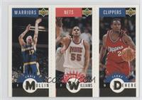 Chris Mullin, Jayson Williams, Terry Dehere