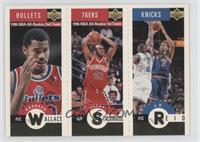 Richard Washington, Jerry Stackhouse, J.R. Reid