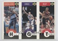 Tyrone Hill, Brian Grant, Kurt Thomas