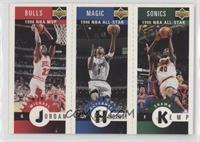 Michael Jordan, Shawn Kemp, Anfernee Hardaway