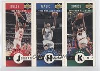 Michael Jordan, Shawn Kemp