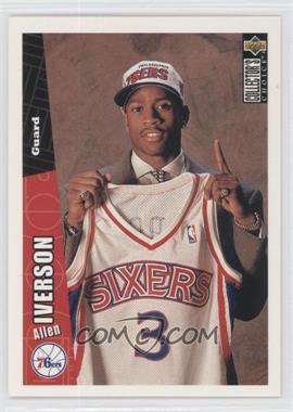 1996-97 Upper Deck Collector's Choice #301 - Allen Iverson ...
