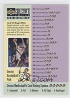Checklist (Reggie Miller, Lorenzen Wright)
