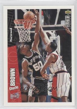 1996-97 Upper Deck Colletor's Choice International German #62 - Chucky Brown