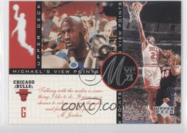 1996-97 Upper Deck Michael's View Points MVP23 #VP9 - Michael Jordan